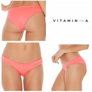 NEW!  L*Space Sandy classic bikini bottoms- pink